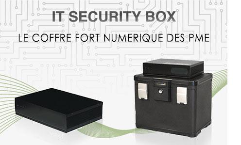 IT security box Ricoh, coffre-fort numérique des PME
