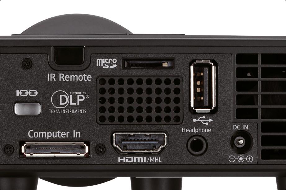 Mini vidéoprojecteur Ricoh PJ WXC1110