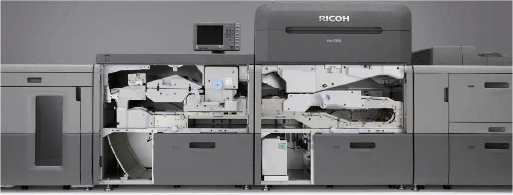 Ricoh Pro C9100 / C9110 inside