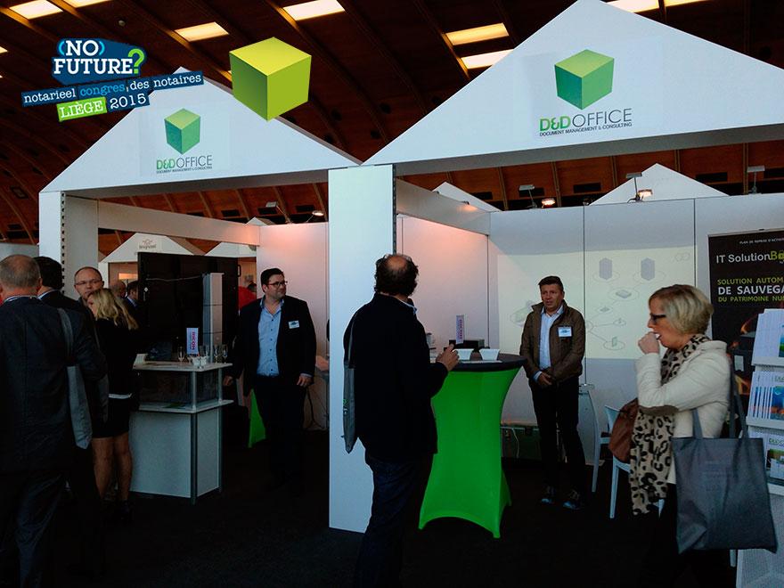 En direct du Palais des Congrès des Congrès de Liège, Congrès des Notaires 2015