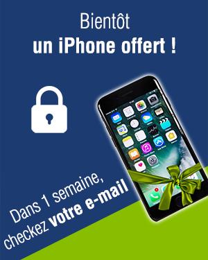 Bientôt, un iPhone offert ! Checkez votre e-mail dans une semaine