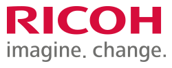 Ricoh Imagine. Change. Logo